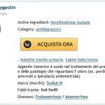 Aygestin online di marca. Comprare La Farmacia Di Aygestin