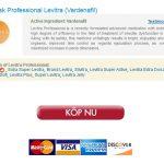 Köp Professional Levitra Märkespiller