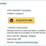 Prezzo Nimotop Di Marca. Farmacia Reggio Calabria Online