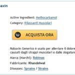 Recensioni Di Farmacie Online Robaxin