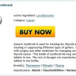 Buy Levothyroxine Online No Prescription | Online Pharmacy Order