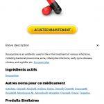 Doxycycline Generique En Pharmacie Prix | Meilleure offre sur Generics